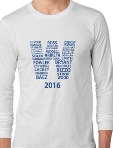 Cubs Baseball Long Sleeve T-Shirt