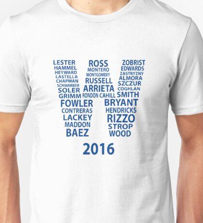 Cubs Baseball Unisex T-Shirt