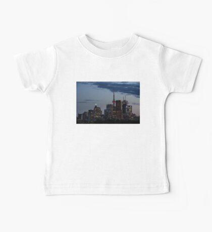 Toronto Skyline at Dusk Baby Tee