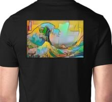 The Great Wave Simpsons Unisex T-Shirt