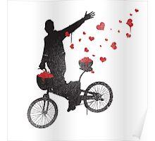 Graffiti Bicycle  Poster