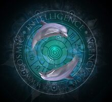 Dolphins - Pisces: intelligence in the world by COSMICAGENCY