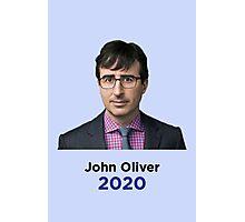 John Oliver for President  Photographic Print