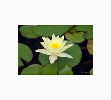 Peaceful Lotus Flower Unisex T-Shirt
