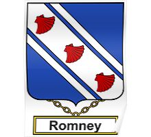 Romney Coat of Arms (English) Poster