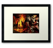 Restoring America The Teabagger Way Framed Print