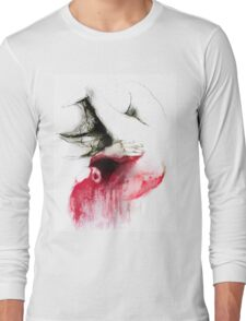 Conceptual drawing - the Body - Look Inside Long Sleeve T-Shirt