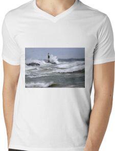 Lake Michigan Waves   Mens V-Neck T-Shirt
