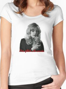 Shes filled with secrets Women's Fitted Scoop T-Shirt