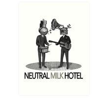 Neutral Milk Hotel Art Print
