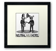 Neutral Milk Hotel Framed Print