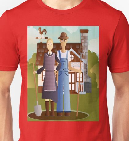 Farming in KRICKET KOUNTRY.....Life's good!   Life's sweet! Unisex T-Shirt
