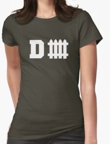 Defense Fence Womens Fitted T-Shirt