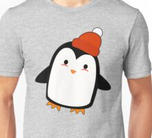 Kawaii Winter Penguin Unisex T-Shirt