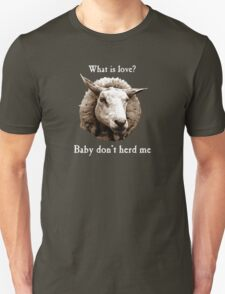 Baby Don't Herd Me Sheep Unisex T-Shirt