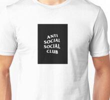 ASSC Club - Black/White Unisex T-Shirt