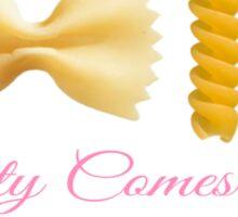 Pasta is Beautiful Sticker