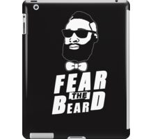 JAMES HARDEN FEAR THE BEARD TShirt HOUSTON Basketball OKC Oklahoma City Rockets iPad Case/Skin