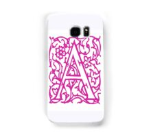 Just the letter A Samsung Galaxy Case/Skin