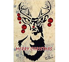 Rudolph the red-nosed reindeer Photographic Print