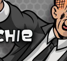 Archer meets Archie Sticker
