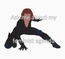 Feminist Agenda Natasha One Piece - Short Sleeve