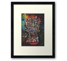 The Tarot Throne Framed Print
