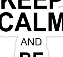 Keep Calm and Be SUPERCALIFRAGILISTICEXPIALIDOCIOUS T shirt Mary Poppins , Unique Gifts Sticker