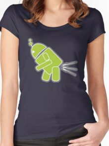 ANDROID ROBOT Women's Fitted Scoop T-Shirt