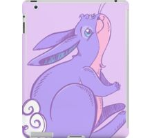 Lavender Bunny Praying for Carrots iPad Case/Skin