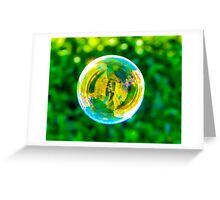The Bubble Greeting Card