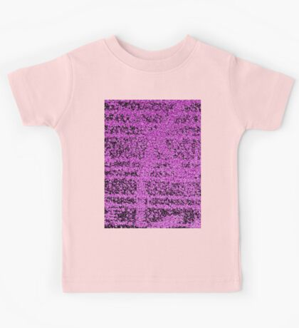 Abstract Pink Kids Tee