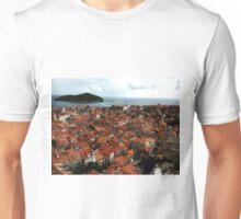 Rooftops of Dubrovnik, Croatia Unisex T-Shirt