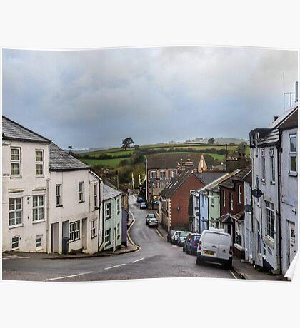 Axminster Devon UK Poster