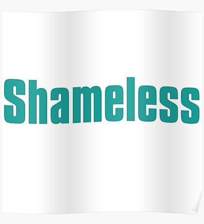 shameless tv show Poster