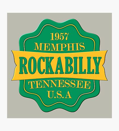Rockabilly 1957 Photographic Print