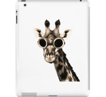 Giraffe With Steampunk Sunglasses Goggles iPad Case/Skin