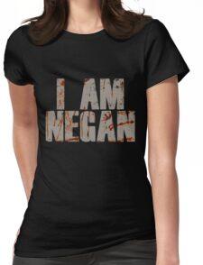 I Am Negan Womens Fitted T-Shirt