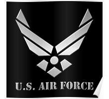 Metal U.S Air Force Poster