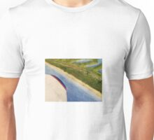 Flying Over the Beach Unisex T-Shirt