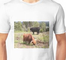 Two highland cattle, Scotland Unisex T-Shirt