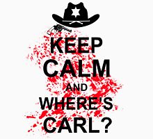 KEEP CALM AND WHERE'S CARL TSHIRT The Walking Zombie TEE APOCALYPES FUNNY Dead Unisex T-Shirt