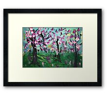 when love grows up Framed Print