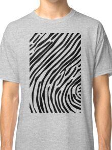 Skin of a zebra Classic T-Shirt