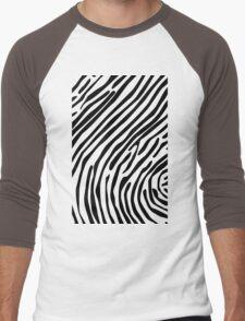 Skin of a zebra Men's Baseball ¾ T-Shirt