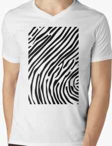 Skin of a zebra Mens V-Neck T-Shirt