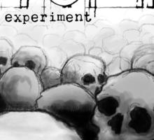 The Utopia Experiments Sticker