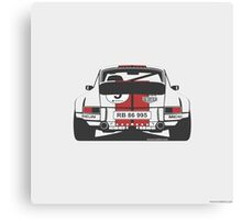 Porsche 911 rear Canvas Print