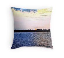 Harbor Sunset 2 Throw Pillow