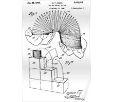 Slinky Patent 1947 Poster